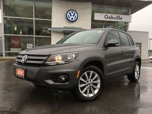 2014 Volkswagen Tiguan CL/AWD/SUNROOF/1 OWNER!