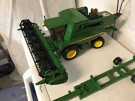 John Deere children's combine harvester