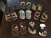 Toddler Boys size 5/6 spring and summer shoes