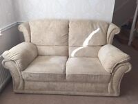 3 piece suite and footstool, bought for £3000 few years ago, no marks/tears.Smoke and pet free home.