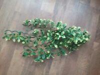 4 Reptile vivarium fake plants