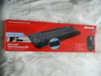 Wired microsoft keyboard and mouse £10