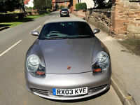 2003 Porsche Boxer 2.7L Manual Grey 50K
