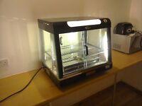 Argenta warm food display heated cabinet
