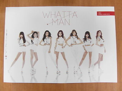 I.O.I - Whatta Man 1st Single [OFFICIAL] POSTER K-POP *NEW* IOI