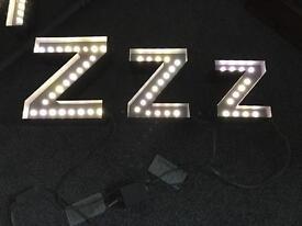 LED Bedside Lights ZZZ - Brand New - Unused