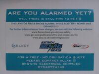 Fire & Smoke Alarm Installations