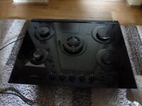 Bosh 5 burner black ceramic hob