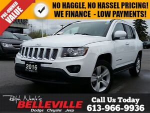 2016 Jeep Compass North-4x4-Back up Camera-$75 Weekly!