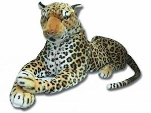 Realistic Large Leopard Stuffed Soft Toy 100cm 40