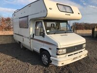 Wanted caravans moterhomes campers