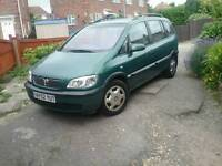 Category C vauxhall zafira 1.8 comfort