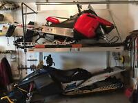 Mountain sled package