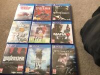 Loads new PS4 games for sale from £5 each upto £45 each some sealed ask for prices