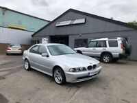 2001 BMW 525i SEMI AUTO IN SILVER