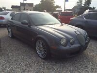 2003 Jaguar S-Type S-TYPE R! SUPERCHARGED! NAV!TOUCH SCREEN!WARR