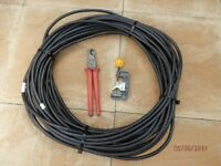 SWA Armoured Cable 1.5mm with tools