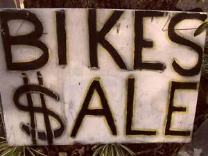 BIKES FOR SALE...SATURDAY 24th June Burpengary Caboolture Area Preview