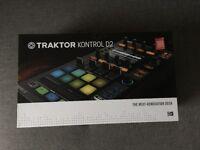 TRAKTOR KONTROL D2 DJ USB STEMS CONTROLLER