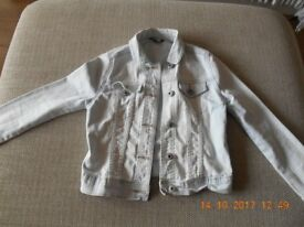 George denim jacket aged 7-8 years