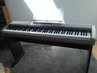 Piano. Casio PX-410R Keyboard and stand