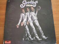 VINYL LP Cream – Goodbye, 1st Issue Vinyl LP Gatefold,Polydor-583 053-1969 £20