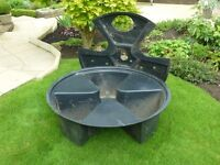 Garden Fountain Sump / Reservoir - 1m diameter by 300mm deep