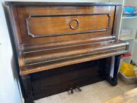 FREE UPRIGHT PIANO. Needs tuning