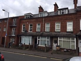 A single room available in a 4 bedroom house beside QUB and City Hospital