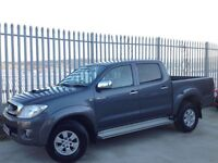 2010 TOYOTA HILUX D/C 2.5 D4-D HL3 4X4 MANUAL GREY ++ IMMACULATE CONDITION!! ++ FSH!! ++