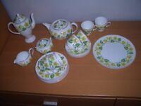 Wedgewood King Cup Tea Set