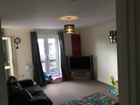 2 double bed large apartment overlooking canal and river close to schools town doctors and more
