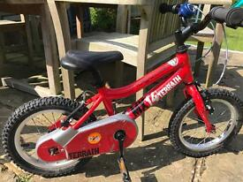Ridgeback mx14 red bike