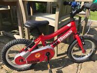 Ridgeback mx14 red bike