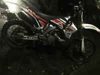 Yzf 450 swap for road bike