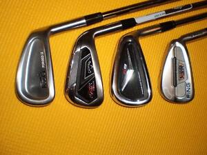 Individual Callaway,Ping,KZG Golf Irons for $20