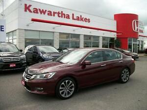 2013 Honda Accord Sport Sedan CVT/NEW 18 INCH GOODYEAR TIRES!!! Kawartha Lakes Peterborough Area image 1