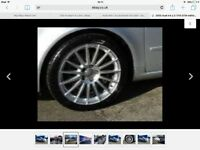 "AUDI A4 18"" DTM ALLOYS WITH TYRES"