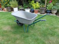 Wheelbarrow # Large 110L Plastic Top~Garden~Horse Manure~Allotment~Stable Tack~General use~Exeter