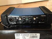 DI BOX - PROEL 2-CH ACTIVE DI BOX
