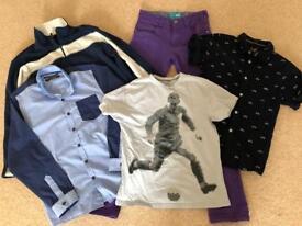 Boys clothes bundle - age 12-13 - Next etc