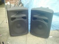 sound lab 600 watt (300 a side ) passive pa speakers