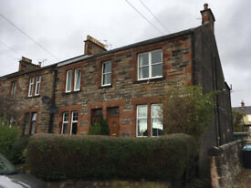 Bright and Airy Two Bed Flat to Rent near Dunfermline Train Station