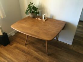Ercol drop leaf dining table - Excellent condition