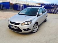 2009 FORD FOCUS 1.6 DIESEL SERVICE HISTORY ONLY 58000 MILEAGE NEW MOT