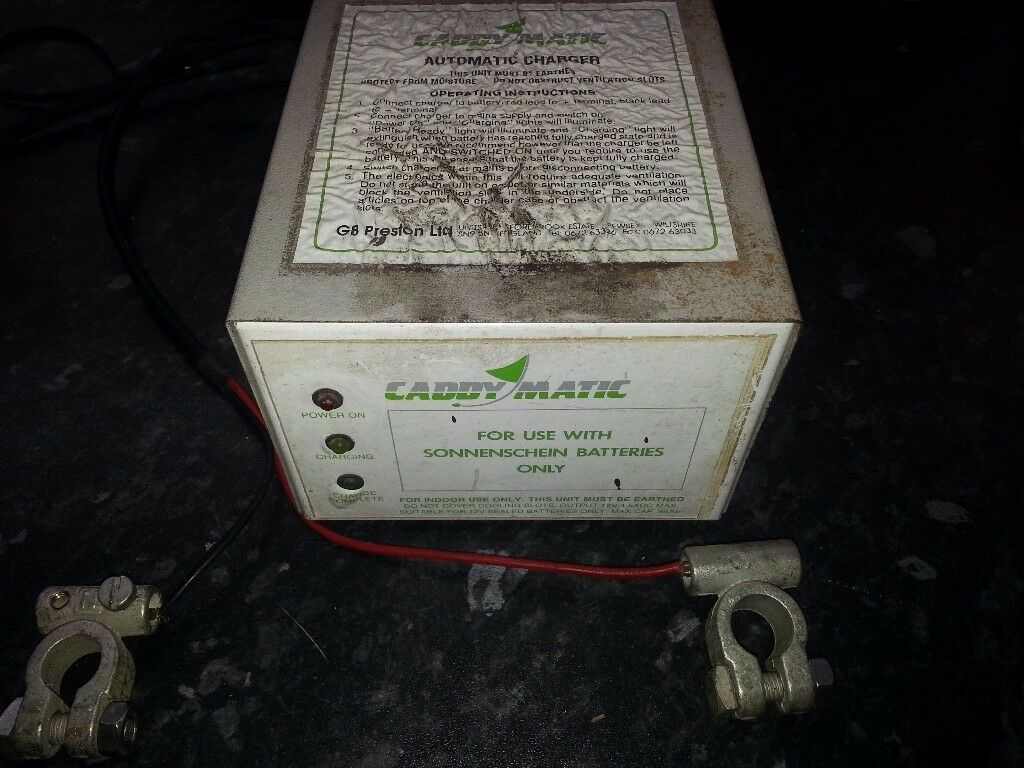 caddy matic battery charger in good condition with box can deliver or post!