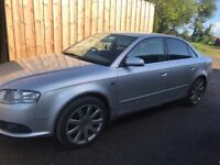Audi A4 for sale phone for more details motd till July 2019