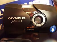 Olympus Mju II - 35mm f.2.8 - New - film camera