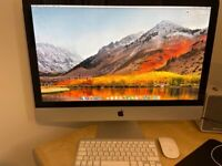 Apple iMac 27-Inch Core i7 3.4 GHz (Mid-2011) with Magic Mouse and Keyboard