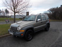 JEEP CHEROKEE CDR DIESEL SPORT 4X4 STUNNING GREEN 2005 BARGAIN ONLY £1950 *LOOK*